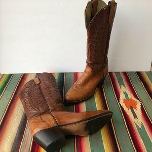 Texas Vintage Cowboy Boots - Sz 7.5